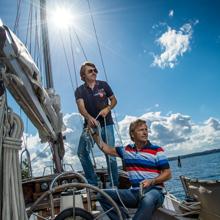 modefoto, Sylt Fotograf professionell ragman Mode Boot boat Shooting Werbeaufnahmen buisness advertising